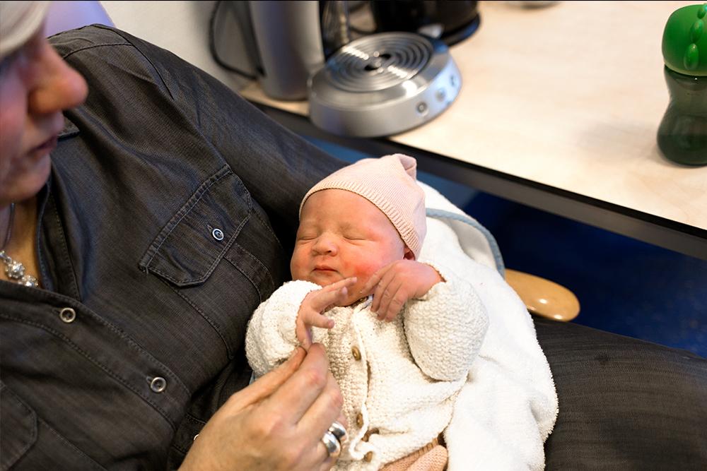 Keizersnede geboortefotograaf